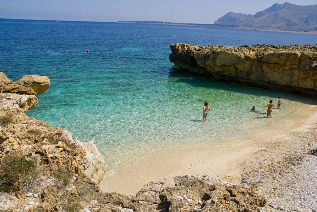 Sicilia Cartina San Vito Lo Capo.Le 7 Piu Belle Spiagge Di San Vito Lo Capo