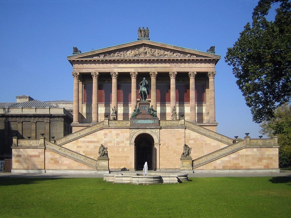 Alte Nationalgalerie - By Manfred Brückels - Own work, Public Domain, https://commons.wikimedia.org/w/index.php?curid=385922