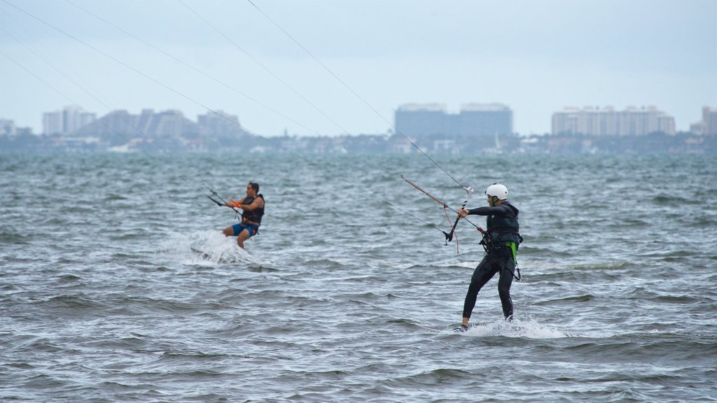 Miami which includes general coastal views and kite surfing as well as a couple