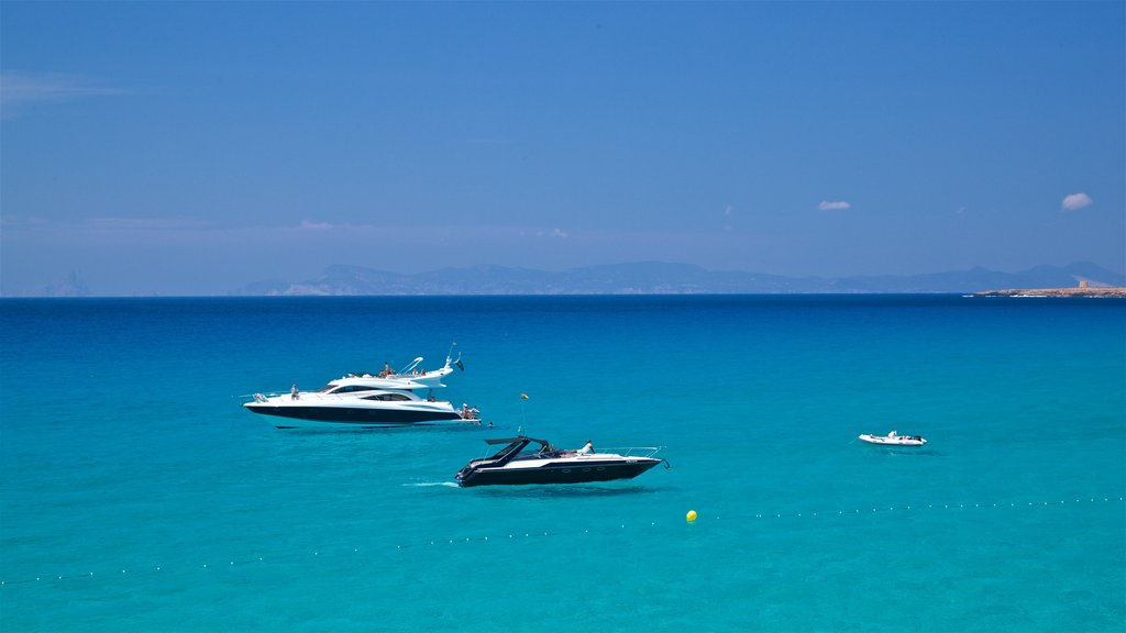 Formentera featuring general coastal views
