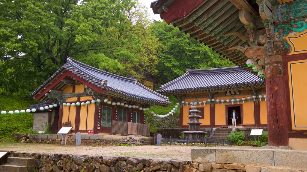 Bongjeongsa Temple showing a temple or place of worship and heritage elements