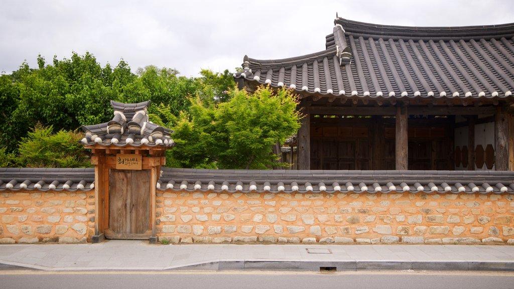 Gyeongju Gyochon mettant en vedette patrimoine historique