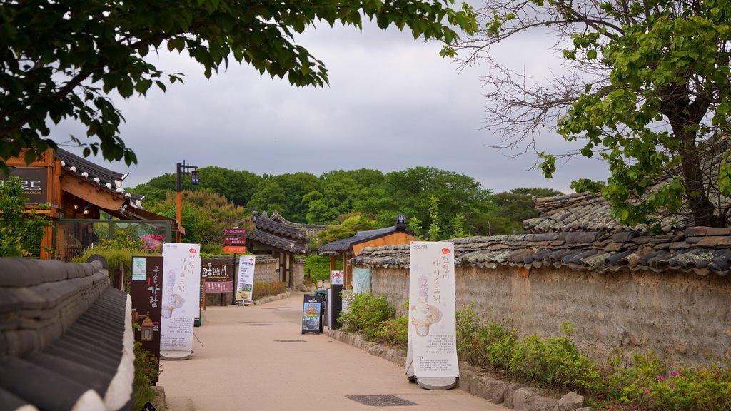 Gyeongju Gyochon mettant en vedette patrimoine historique et petite ville ou village