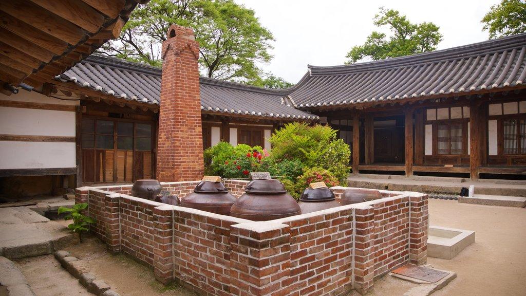Gyeongju Gyochon montrant patrimoine historique