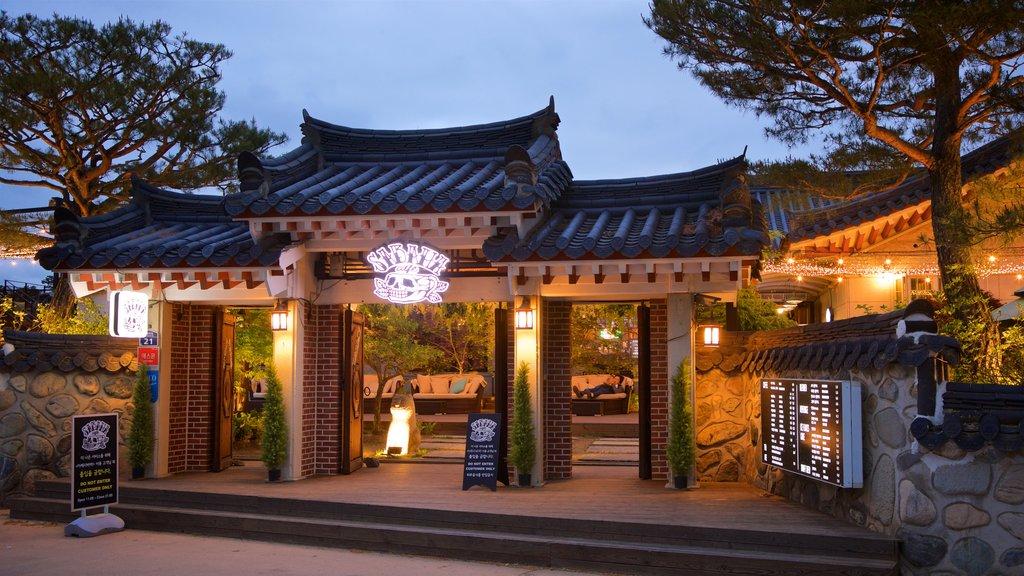 Gyeongju Gyochon mettant en vedette scènes de nuit