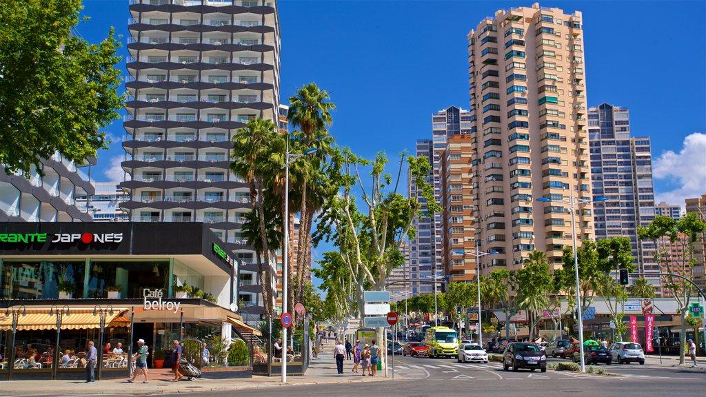 Benidorm Centro featuring a city