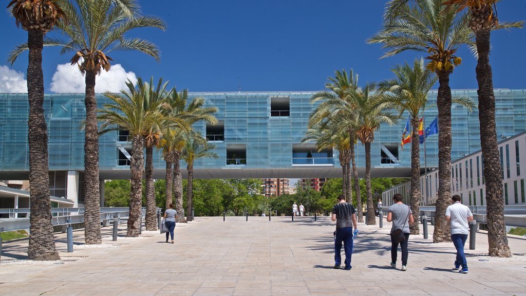 Benidorm Centro which includes street scenes and a square or plaza as well as a small group of people