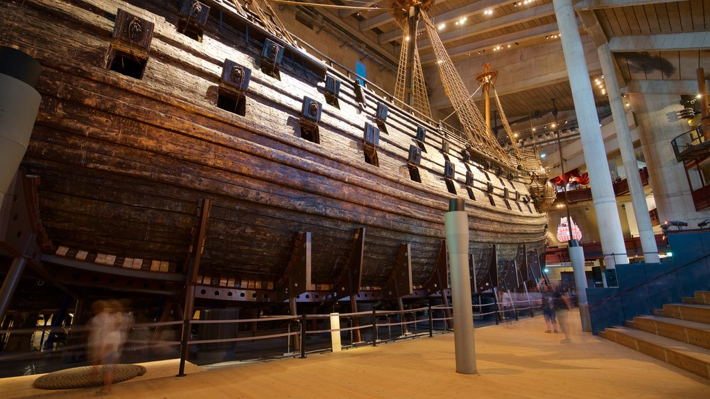 Vasa Museum which includes interior views and heritage elements
