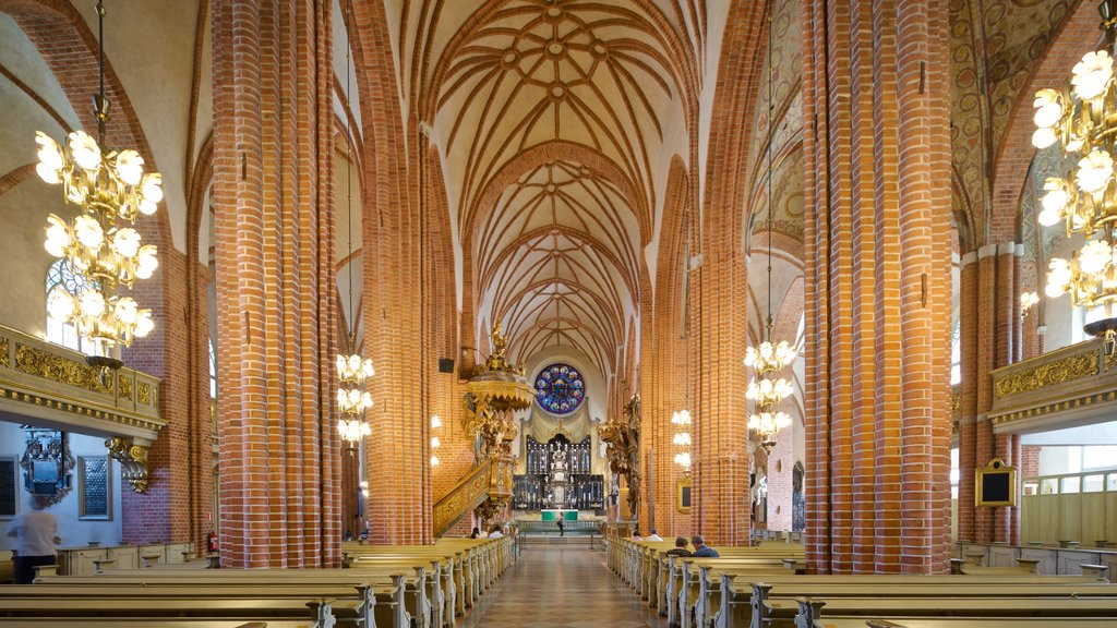 Stockholm Cathedral which includes a church or cathedral, interior views and heritage elements