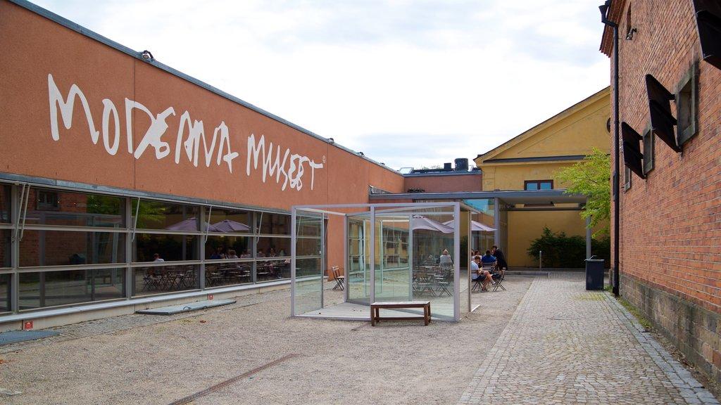 Museo de arte moderno Moderna museet mostrando señalización