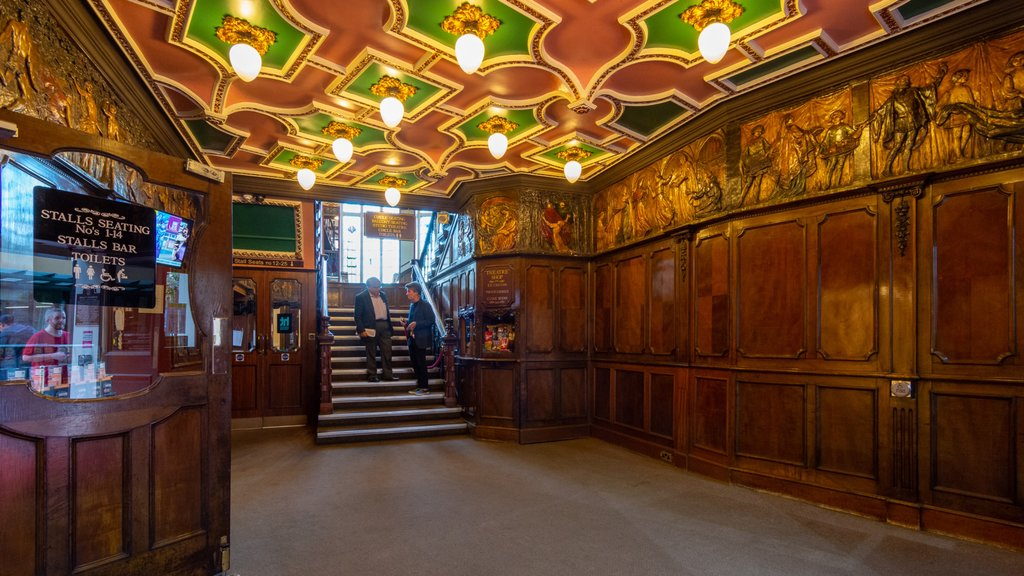 Harrogate Theatre showing heritage elements and interior views