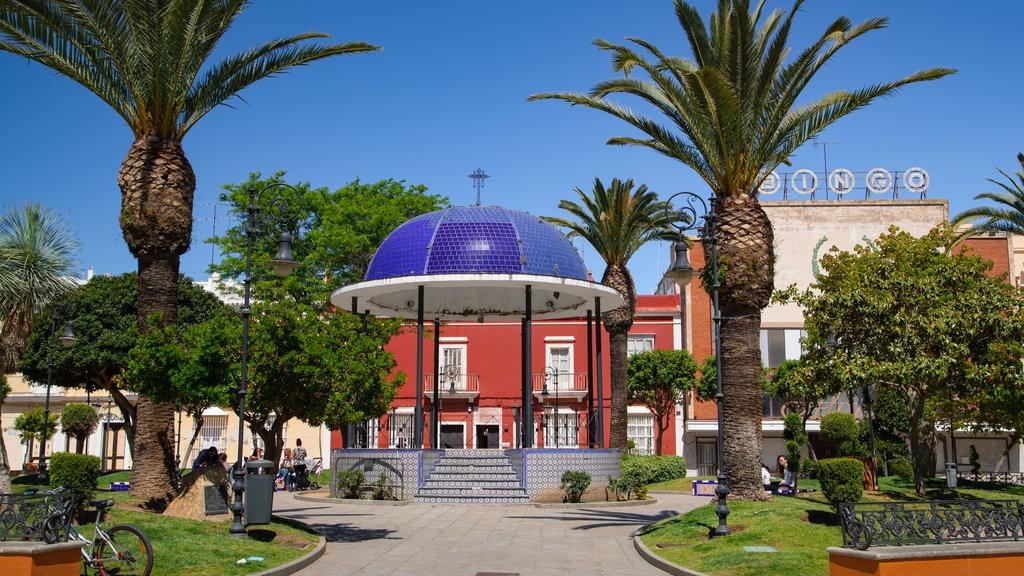 San Fernando que incluye un jardín