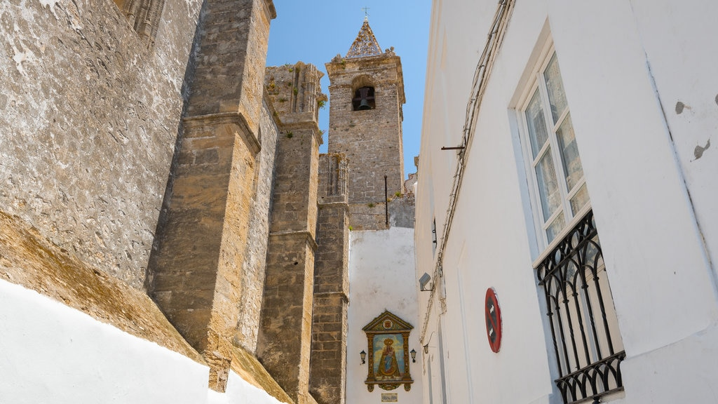 Vejer de la Frontera featuring heritage elements