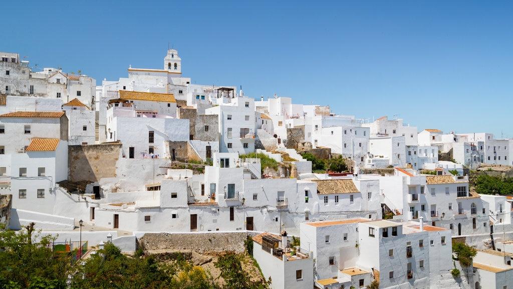 Vejer de la Frontera which includes a city