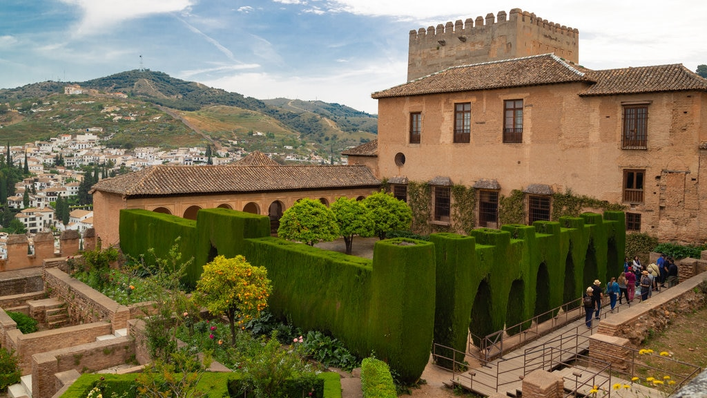 Alhambra which includes heritage elements and a park