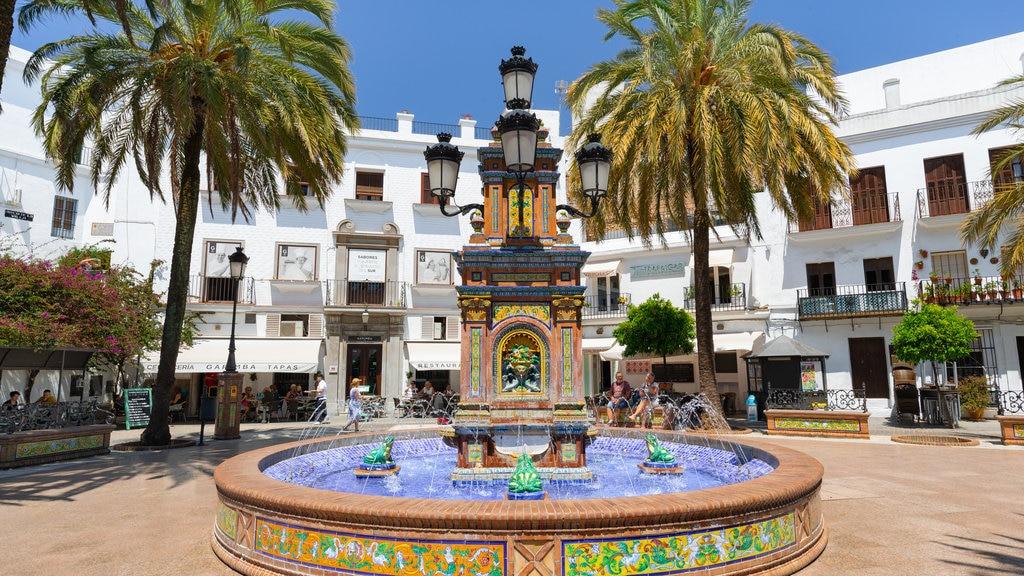 Plaza de Espana showing a fountain