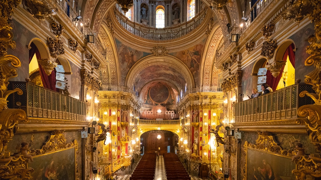 Spain featuring a church or cathedral, heritage elements and interior views