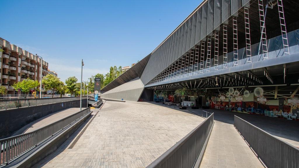 Gran Casino Costa Brava featuring modern architecture