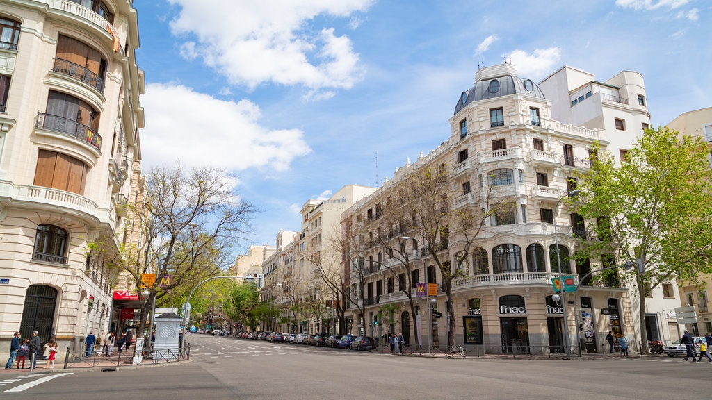 Salamanca showing a city