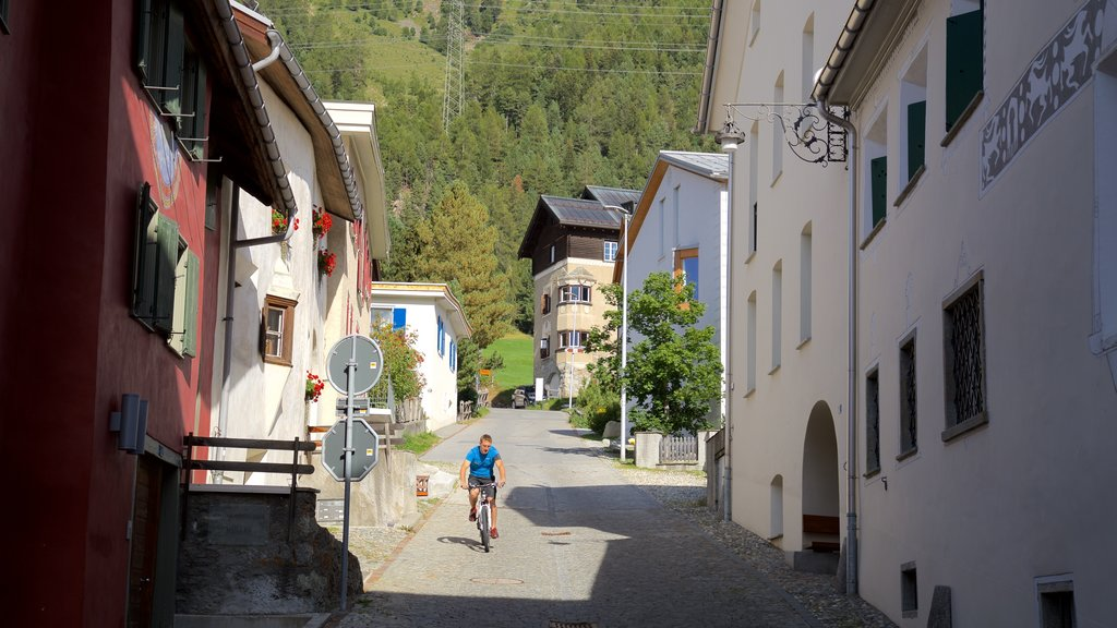 Pontresina which includes road cycling as well as an individual male