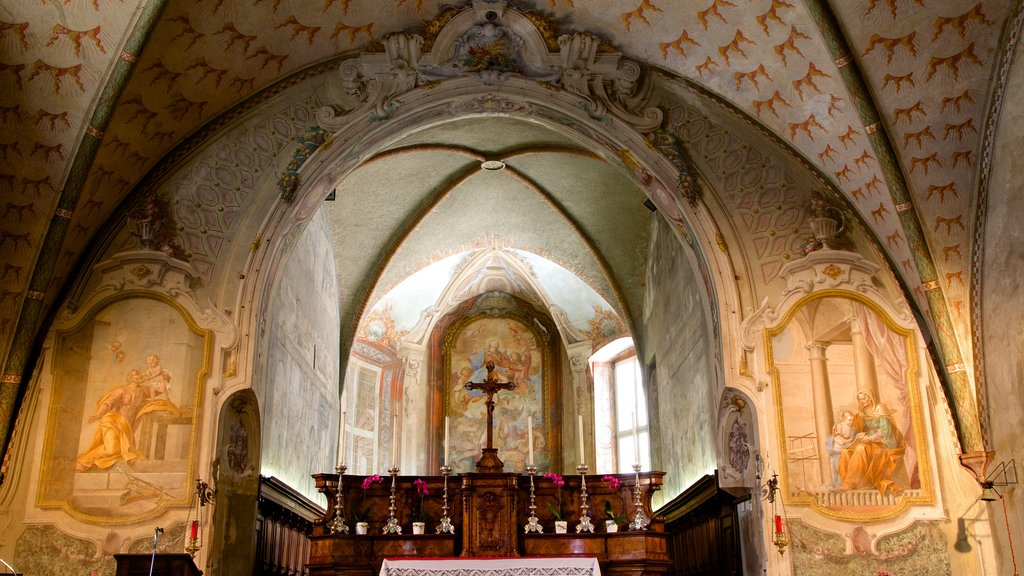Santa Maria degli Angeli featuring heritage elements, religious elements and interior views
