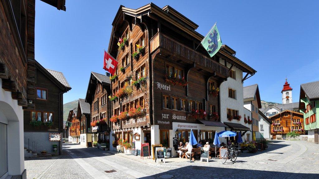 Andermatt featuring heritage architecture