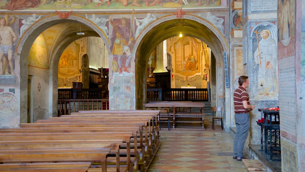 Santa Maria degli Angeli showing religious elements, art and interior views