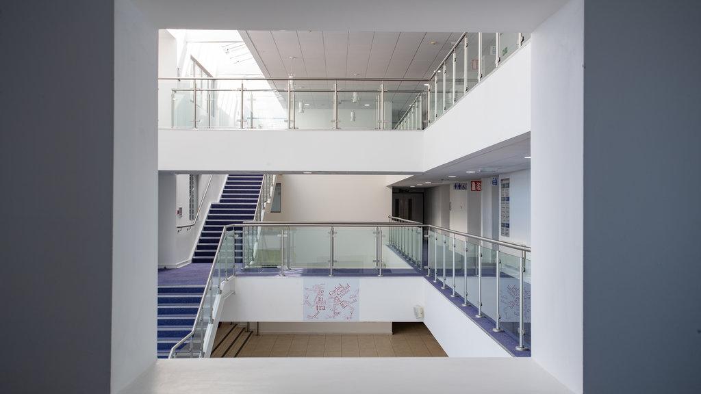 Venue Cymru showing interior views