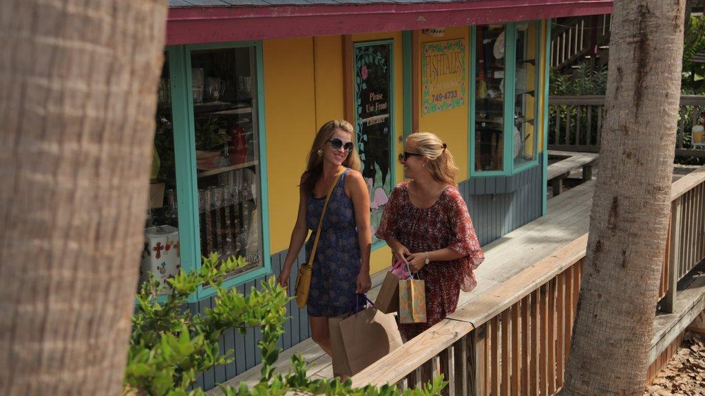 Port Aransas showing shopping