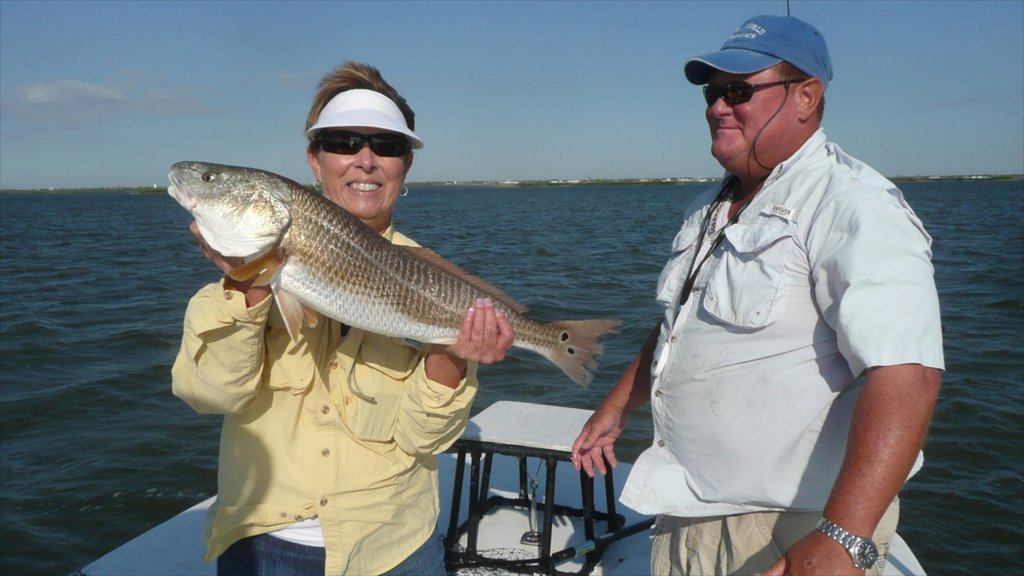 Port Aransas which includes fishing and marine life as well as a couple