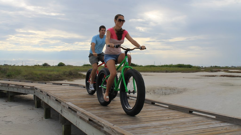 Port Aransas which includes cycling as well as a couple
