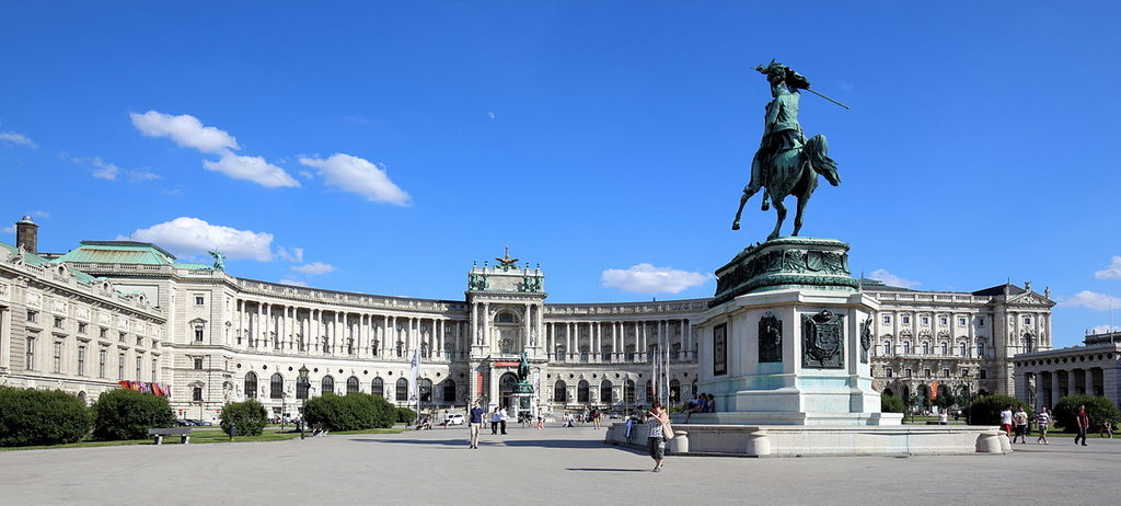 Hofburg - By Bwag - Own work, CC BY-SA 3.0 at, https://commons.wikimedia.org/w/index.php?curid=35303706