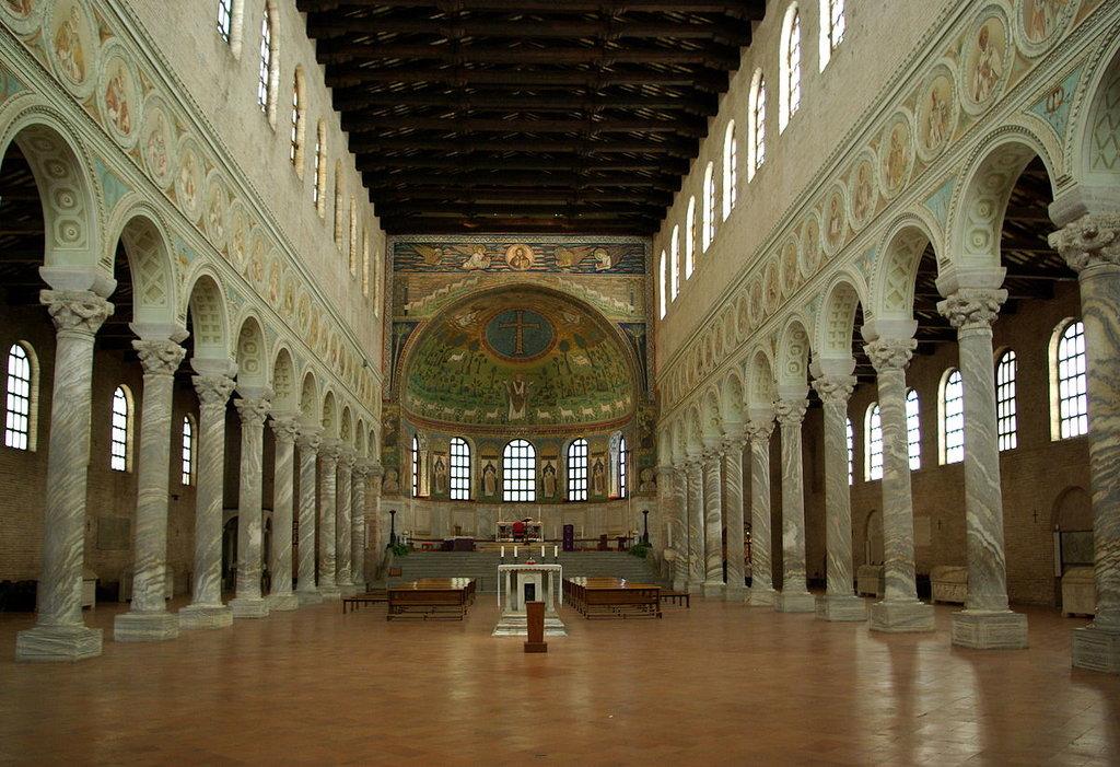 Basilica di Sant'Appolinare in Classe - Di Berthold Werner - Opera propria, Pubblico dominio, https://commons.wikimedia.org/w/index.php?curid=6375848