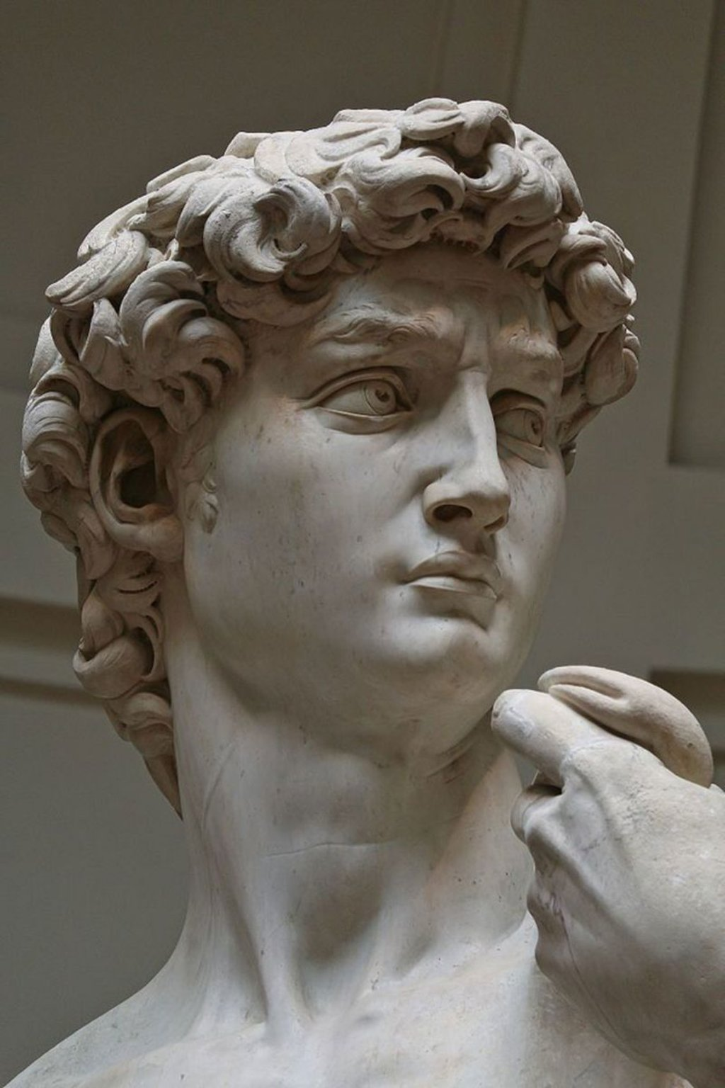 Galleria dell'Accademia, il David di Michelangelo - By Jörg Bittner Unna (Opera propria)  , via Wikimedia Commons