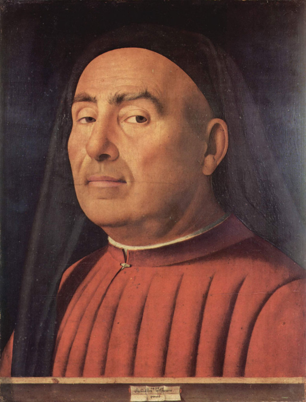 Palazzo Madama, Galleria Civica d'Arte Antica: Ritratto d'uomo, Antonello da Messina - Torino: 10 musei da vedere  , via Wikimedia Commons