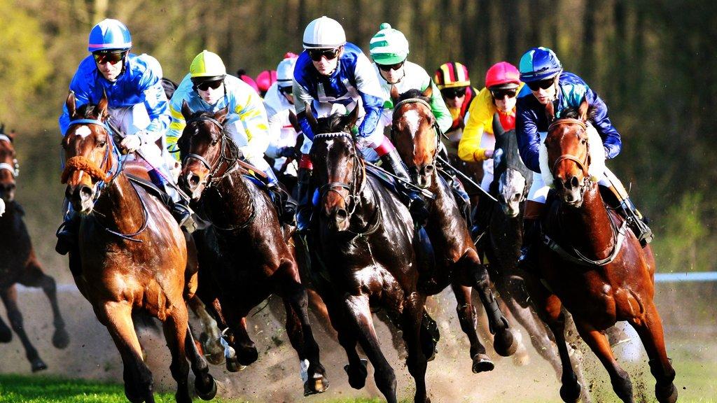 Dahlwitz-Hoppegarten featuring horseriding and a sporting event
