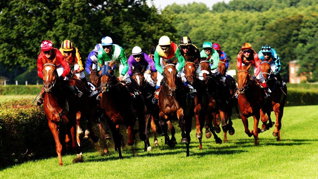 Dahlwitz-Hoppegarten which includes horseriding
