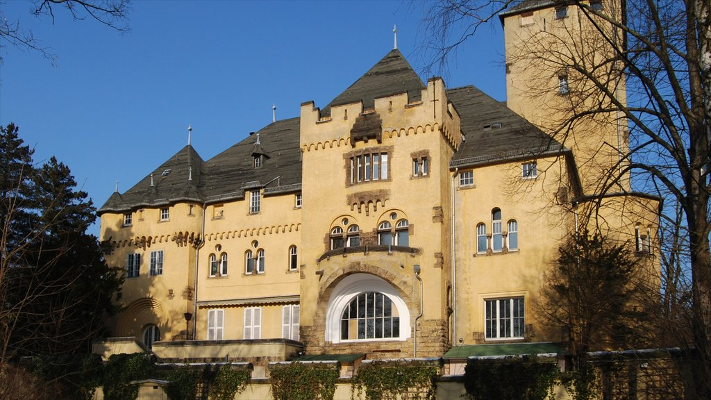 Kleinmachnow featuring heritage architecture and a castle