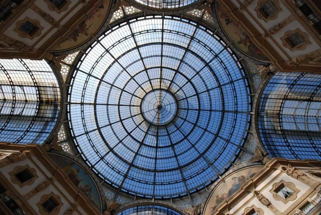 La celebre Galleria, splendido esempio di Liberty - Photo credit Pixabay