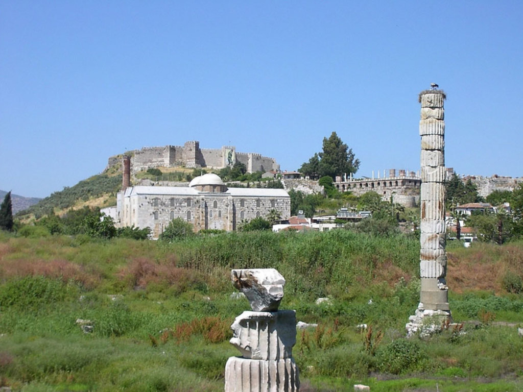 I resti del Tempio di Artemide a Efeso - Le 7meraviglie del mondo antico