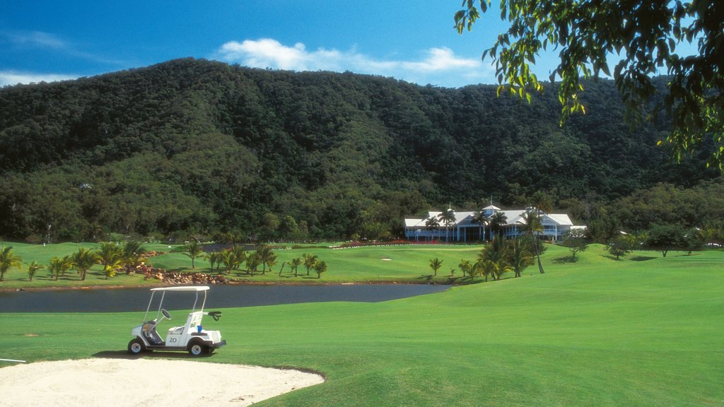 Clifton Beach featuring mountains, a luxury hotel or resort and golf