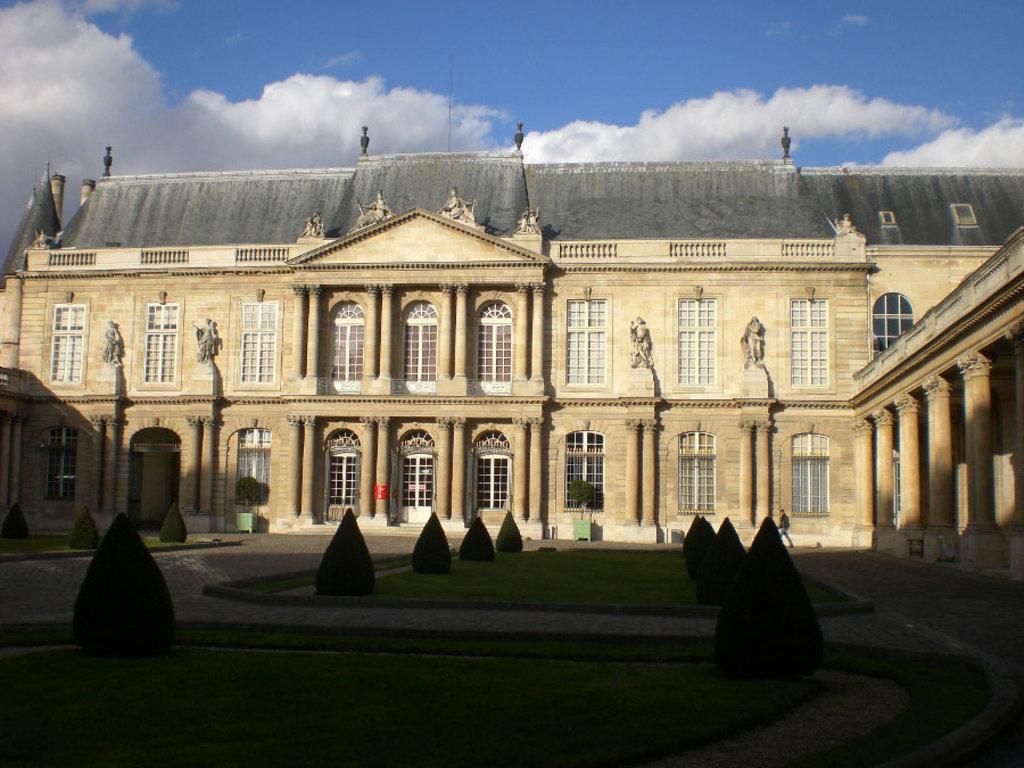 L' Hôtel de Soubise, sede degli Archivi nazionali francesi - By Parsifall (Own work)  , via Wikimedia Commons