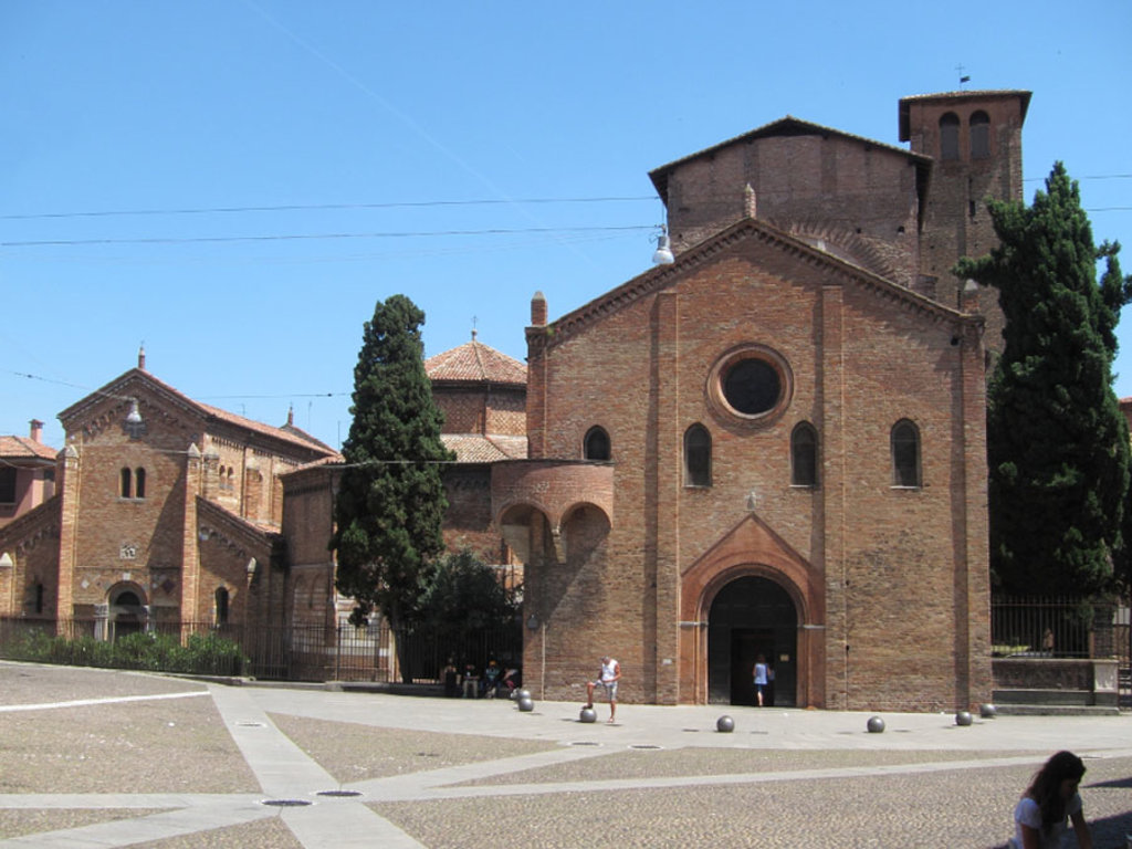 La Basilica di Santo Stefano - By AHert (Own work)  , via Wikimedia Commons