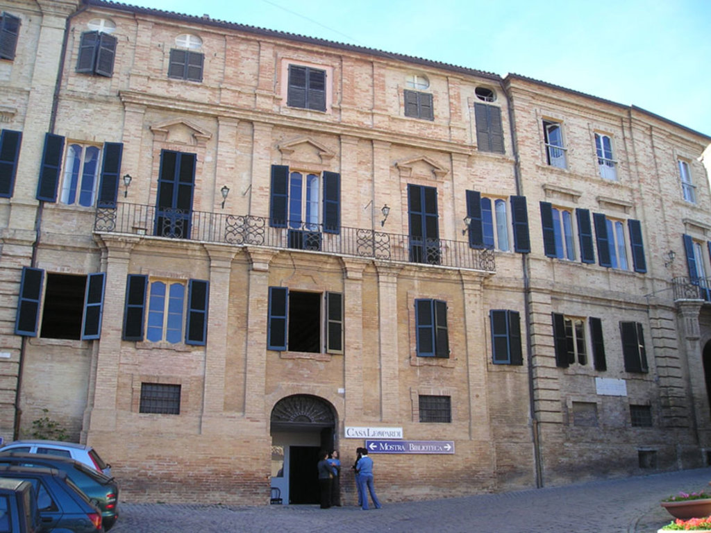Casa Leopardi a Recanati - By Massimo Macconi (Own work)  , via Wikimedia Commons
