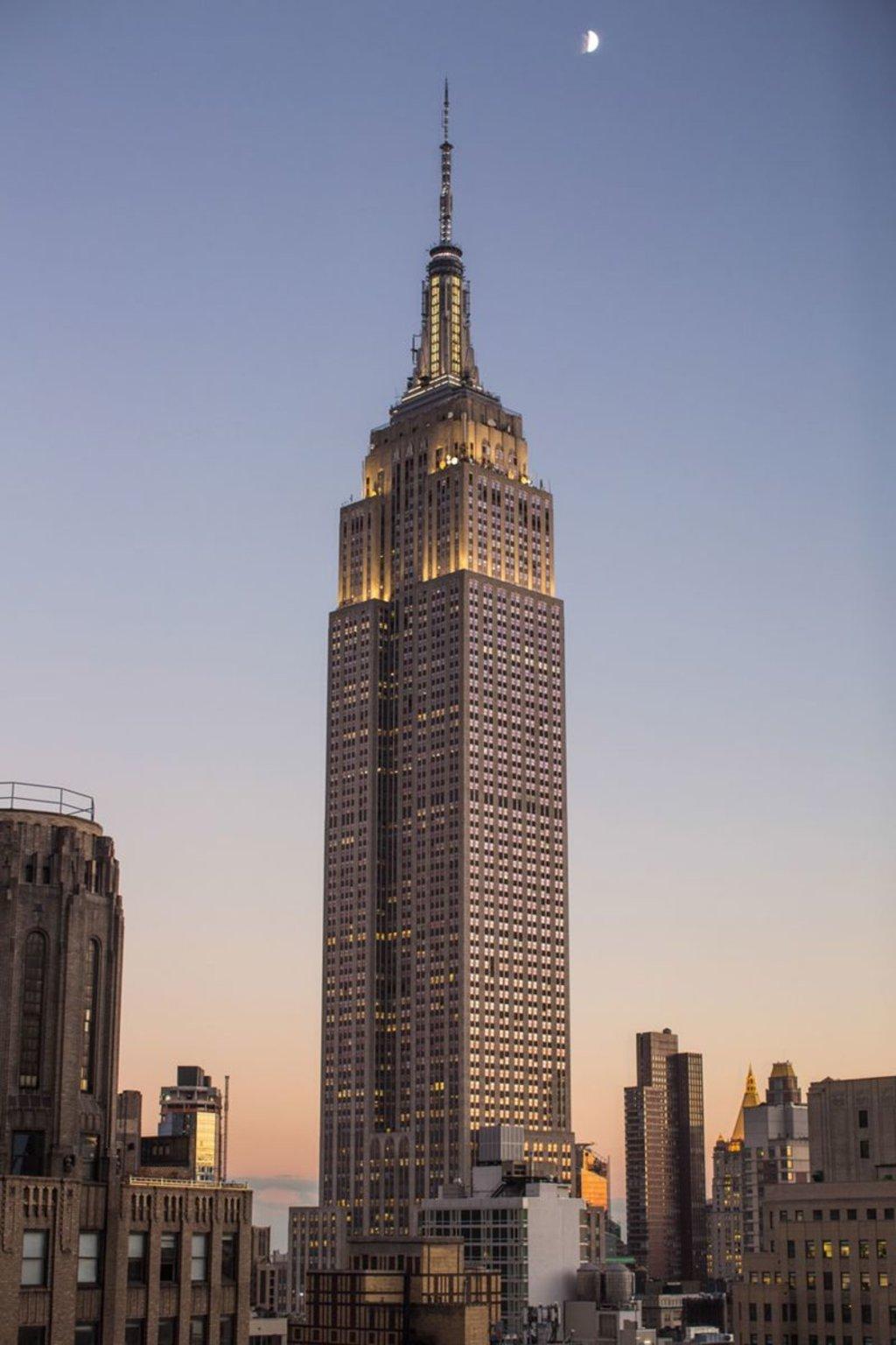 L'Empire State Building è il modo migliore per vedere la città dall'alto.
