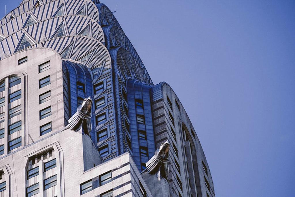 La cupola del Chrysler Building