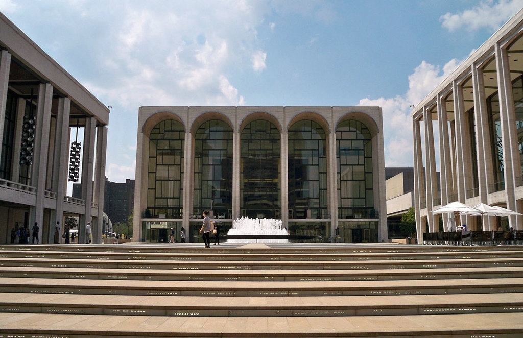 Lincoln Center - Matthew G. Bisanz  , via Wikimedia Commons
