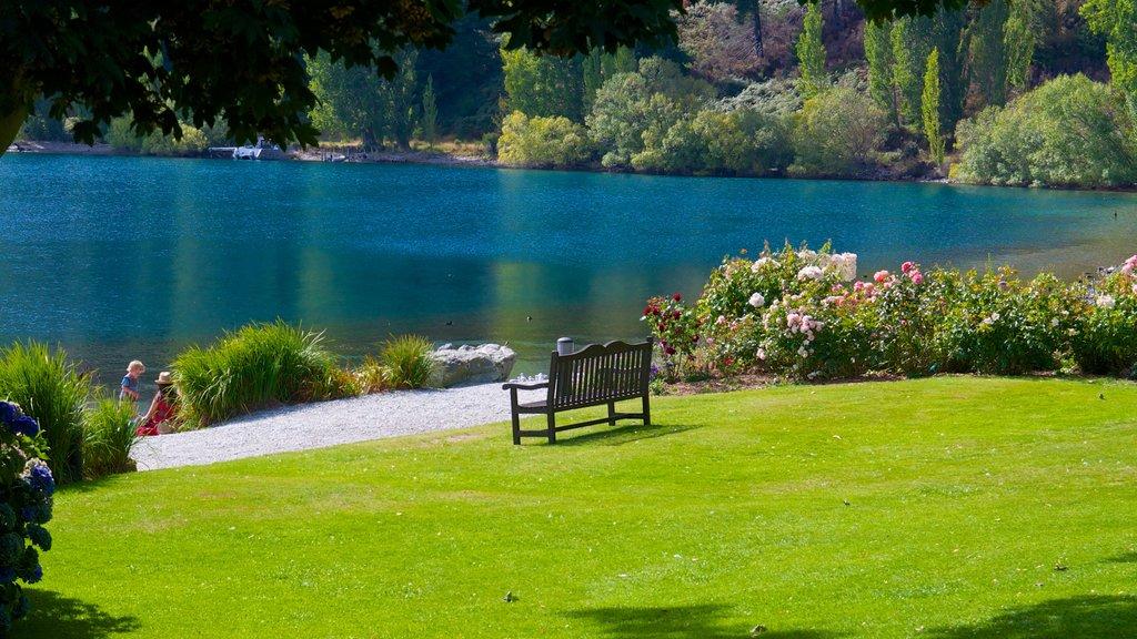 Walter Peak High Country Farm que incluye un lago o abrevadero, un parque y vistas