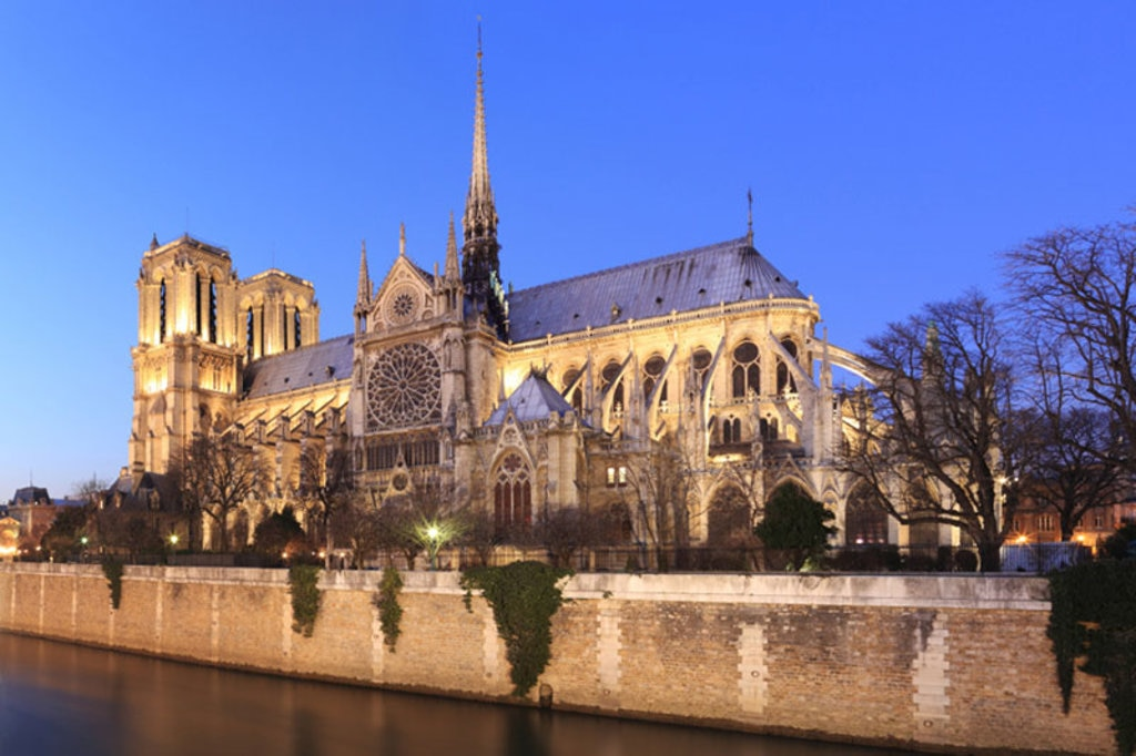 Notre Dame al tramonto. Poto credit Getty Images