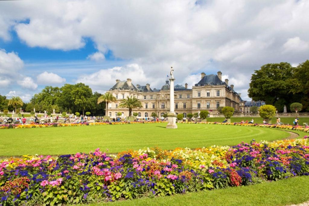 Fiori colorati al Jardin du Luxembourg